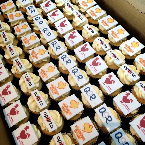 Red Rooster Cupcakes