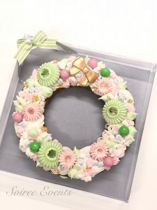 gingerbread cookie christmas wreath