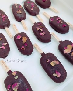 Chocolate Rose Cakesicles