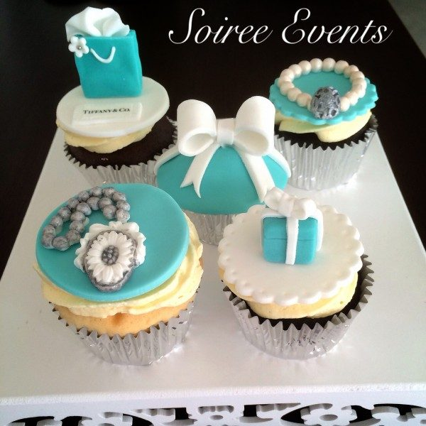 Tiffany and Co Cupcakes