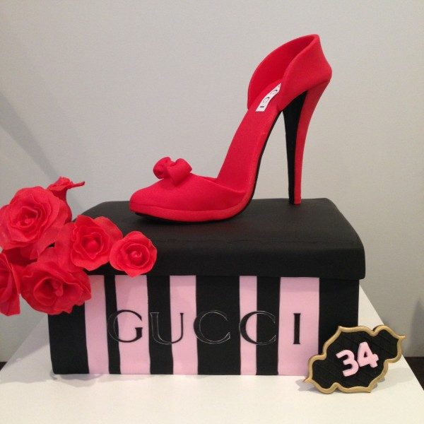 Gucci Shoe Cake