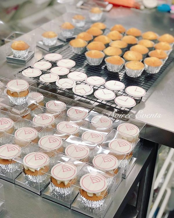 corporate cupcakes individually boxed