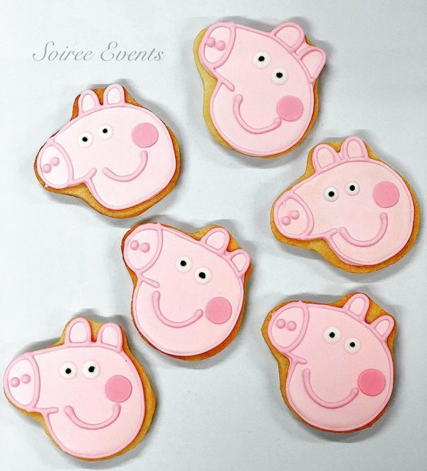 peppa pig sugar cookies