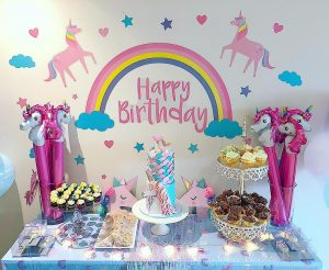 unicorn-and-mermaid-dessert-table